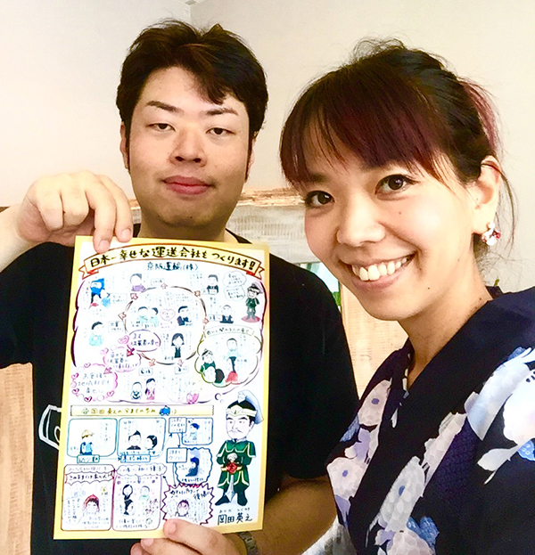 「もう一度会いたい」と思われる自己PRツール。やはりビジュアルがあると視覚に訴えかけられるなと感じました。