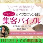 【号外】サロン集客の新常識!「集客バイブル」小冊子無料プレゼント!