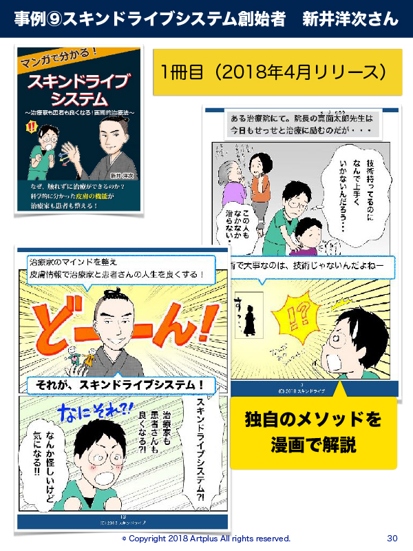 スキンドライブ 漫画 まんが マンガ 新井洋次さん