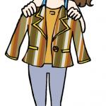 イラストプレゼント第2弾!「この服、いまいち似合わないなぁ〜」のイメージをイラストに【漫画で学ぶ伝えるチカラ】