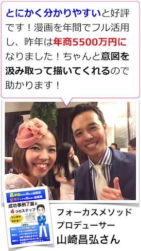 【まんがプロモーション事例】フォーカスメソッドプロデューサー山崎昌弘さん